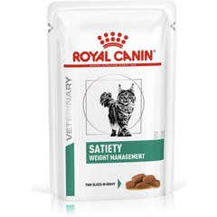 Royal Canin Satiety Weight Management Kat Natvoer 12x 85g