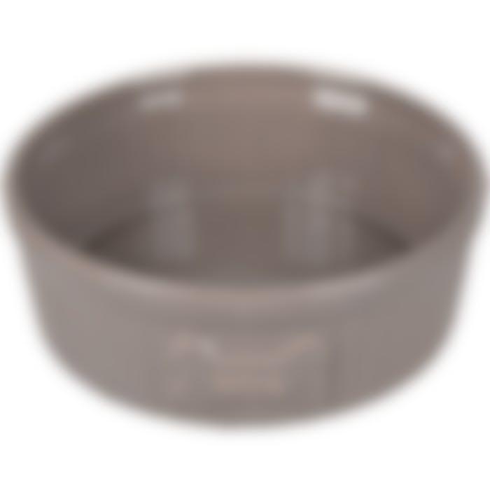 Gamelle Chien Mabel Ceramique Taupe 15cm 640ml
