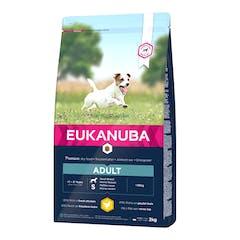 Eukanuba Adult Small Breed - Hondenvoer Met Kip - 15kg