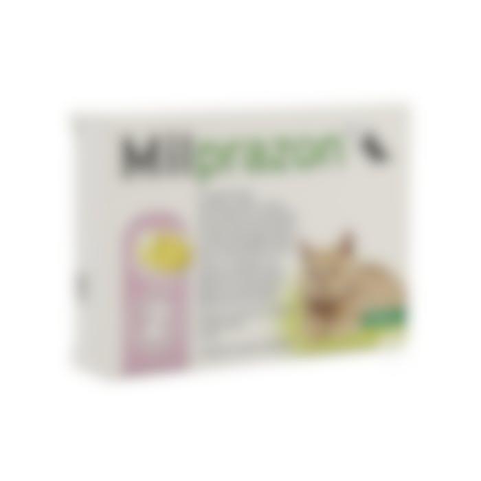 Milprazon Kleine Kat 4mg - 2 Tabletten