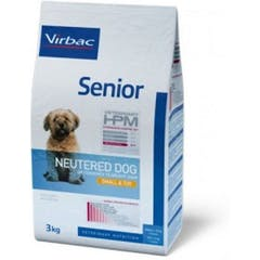 Virbac Veterinary Hpm Senior Neutered Small & Toy pour chien 3kg