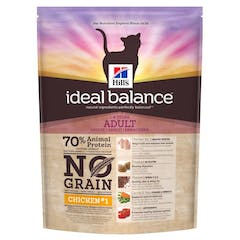 Hill's Ideal Balance Adult No Grain – Kattenvoer met Kip – 1,5kg