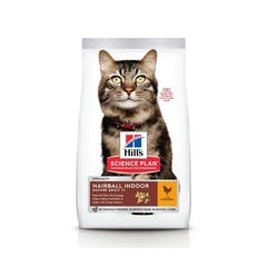 Hill's Science Plan Mature Adult Hairball & Indoor Poulet 1,5kg