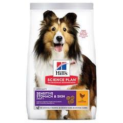 Hill's Science Plan Adult Sensitive Stomach & Skin Medium Poulet 2,5kg
