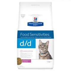 Hill's Prescription Diet D/D Cerf pour chat 1,5kg