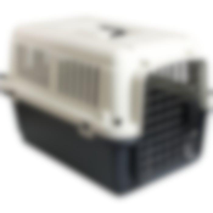 Cage De Transport Nomad Gris M 53x67x47cm