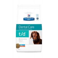 Hill's Prescription Diet T/D Mini pour chien 3kg