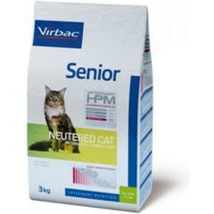 Virbac Veterinary Hpm Senior Neutered - Kattenvoer - 1,5kg