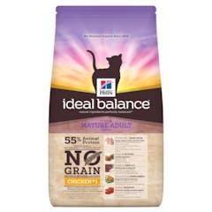 Hill's Ideal Balance Mature Adult No Grain – Kattenvoer met Kip – 1,5kg