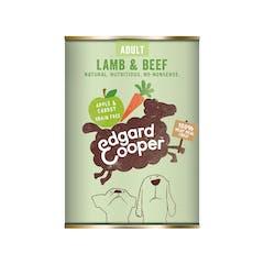 Edgard&Cooper Hondenvoer in blik met Lam – 6x 400g