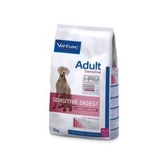 Virbac HPM Adult Sensitive Digest Large & Medium pour chien 12kg
