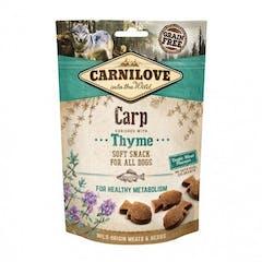 CARNILOVE Soft Snack à la Carpe et au Thym 200g
