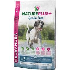 Eukanuba Natureplus+ Adult - Graanvrij Hondenvoer Met Zalm - 10kg