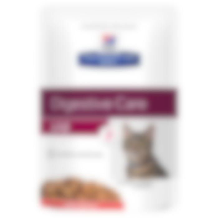 Hill's Prescription Diet I/D – Kattenvoer met Zalm –  Maaltijdzakjes 12x85g
