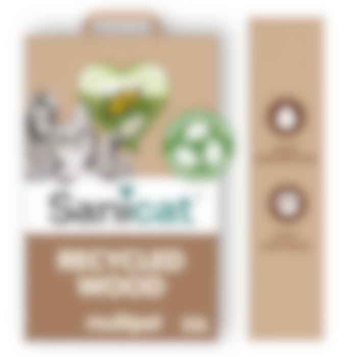 Sanicat Recycled Wood Pellets 20l