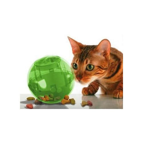Balle distributrice de croquettes Slimcat