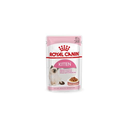Royal Canin Kitten  Sachet - Emincé en Sauce