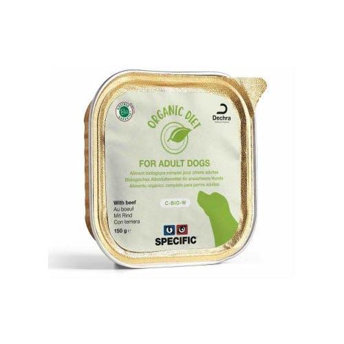 SPECIFIC BIO Organic Diet Chien au Boeuf 5 Barquettes de 150g