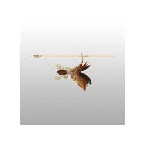 Jouet canne à pêche papillon