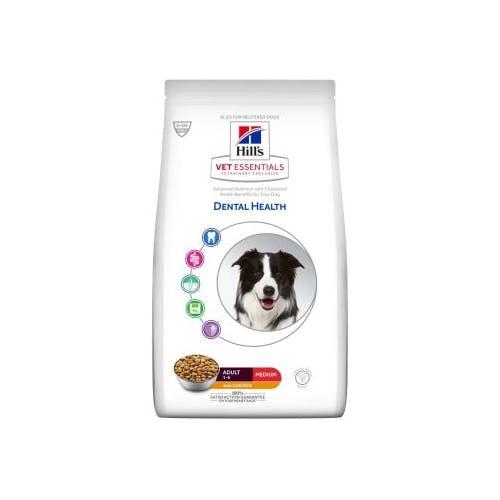 Hill's VET ESSENTIALS Adult Dental Health croquettes pour chien au poulet