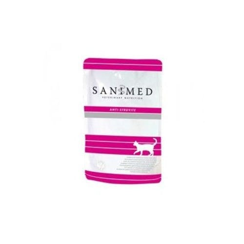 Sanimed Anti-Struvite  - Kattenvoer - Maaltijdzakjes 12x 100g
