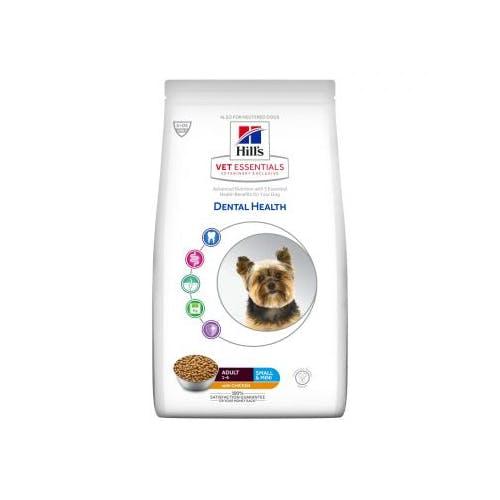 Hill's VET ESSENTIALS Adult Dental Health croquettes pour petit chien au poulet