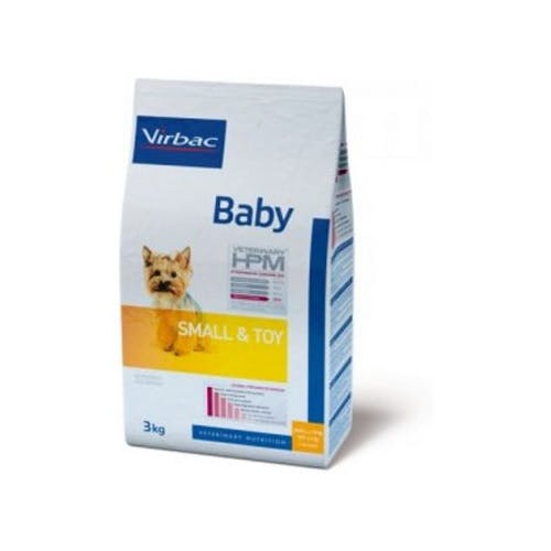 Virbac Veterinary Hpm Baby Small & Toy pour chien 1,5kg