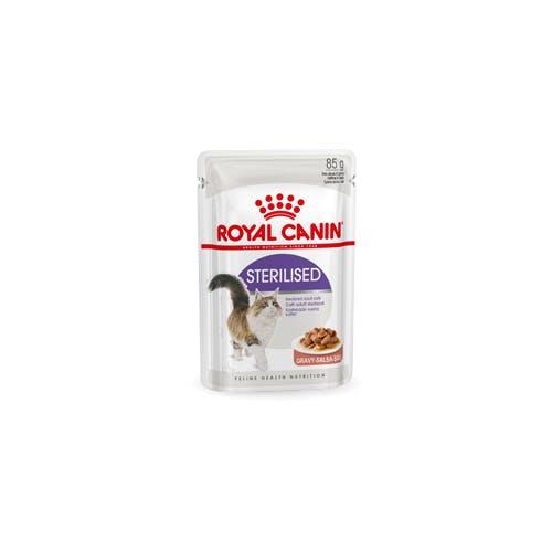 Royal Canin Sterilised In Gravy Kat 12x 85g