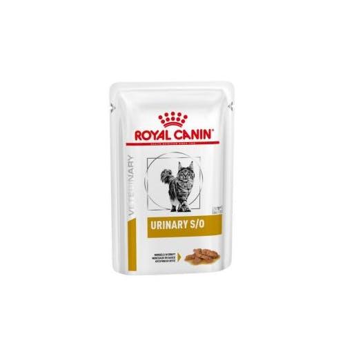 Royal Canin Urinary S/O kattenvoer Gravy vleesstukjes 12x 85g
