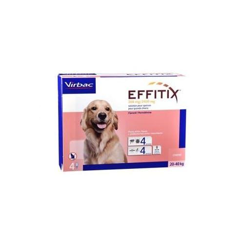 Effitix Spot On L - Chien 20-40Kg