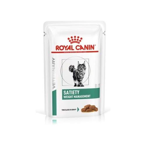 Royal Canin Satiety Weight Management Kat Natvoer 12x 85g
