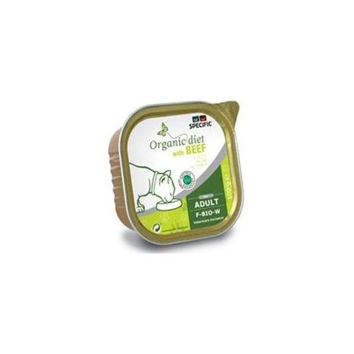 Specific F-Bio-W Organic – Kattenvoer Blik met Rund – 7x 100g