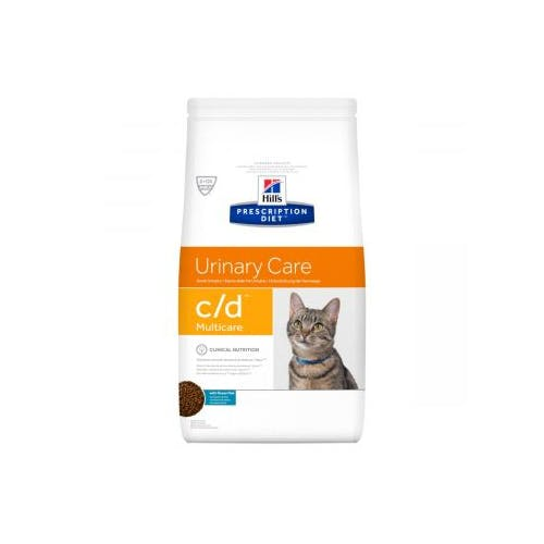 Hill's Prescription Diet C/D Multicare croquettes pour chat au poisson