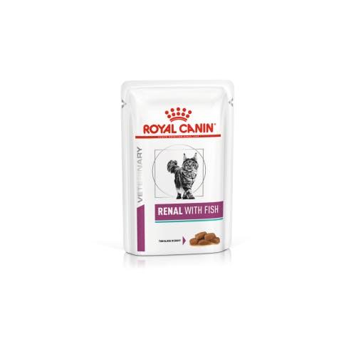 Royal Canin renal chat 12 sachets fraîcheur poisson 85g